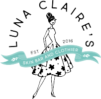 Luna Claire's Skin Care and Clothing Boutique offers women's fashion clothing and accessories along with skin care services