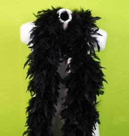 BP Feather Boa 6 ft. Black