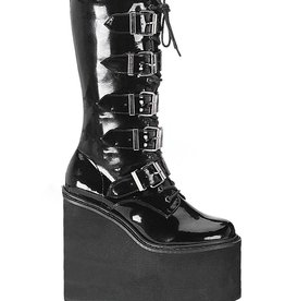 PLS Swing Platform Boot with Buckles 5 1/2""