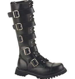 PLS Riot Steel Toe Buckle Knee Boot
