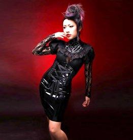 CLR Underbust Corset Style PVC Dress