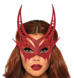 LGA Glitter Devil Mask