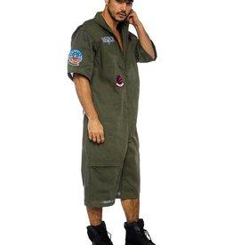 LGA Top Gun Mens Short Flight Suit