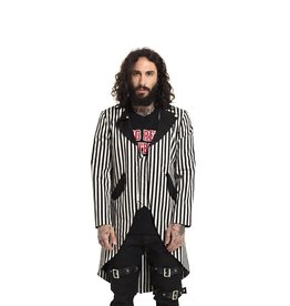 SIL Mens Stripe Jacket with Tails