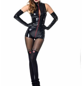 PC Tweeny 3 Way PVC Zip Bodysuit