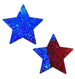 NN American Spirit Sequin Wonder Woman Star Pasties