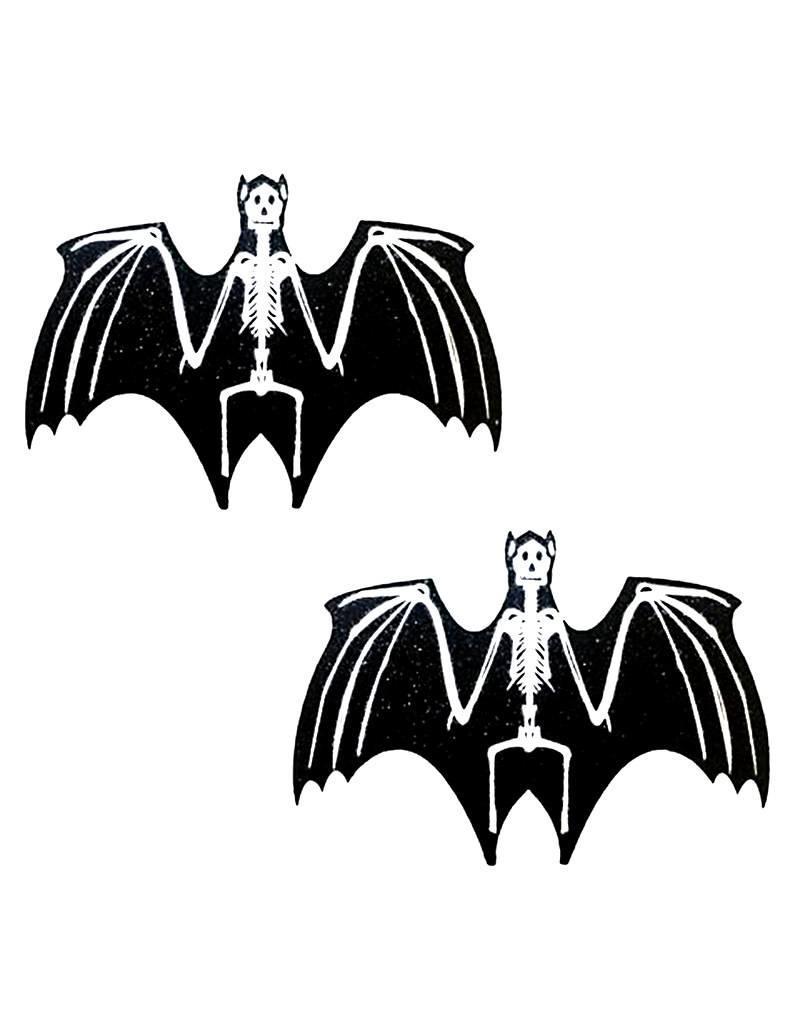 NN Freaking Awesome  Skeletor Bat Nipztix Pasties