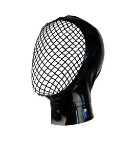 VEX Open Face Latex Hood with Latex Fishnet Face