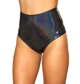 ROM Shimmer High Waisted Shorts