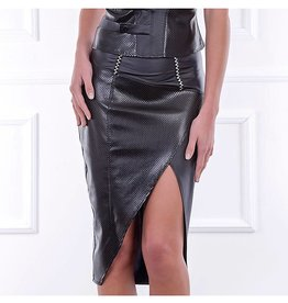 PC Melodie Wetlook Pencil Skirt