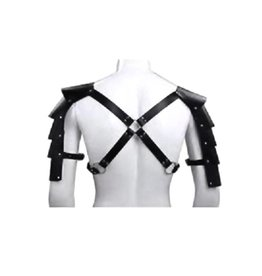 ETC Faux Leather Gladiator Shoulder Harness