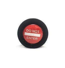 ETC Do Not Enter Medium Silicone Butt Plug