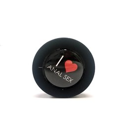 ETC I Love Anal Sex Medium Silicone Butt Plug