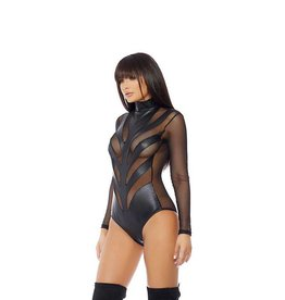 FOR Ride Out Sheer And Wetlook Bodysuit