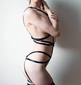 COL Fabiana Strappy Harness Bodysuit