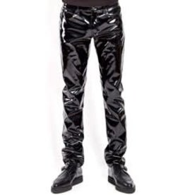 TRP Slim Leg Vinyl Pants