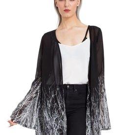 SIL Twig Fabric Kimono
