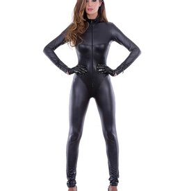 PC Montreal Textured Wetlook Catsuit