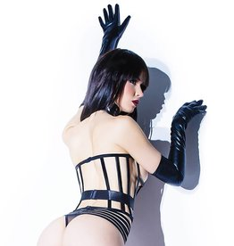 COQ Cage Corset with Elastic Band