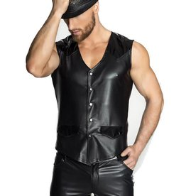 NH PVC & Wetlook Snap Front Vest