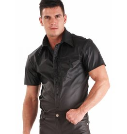 HON Mens Leatherette Short Sleeve Top