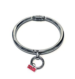 ETC Stainless Steel Locking Slave Collar with O Ring