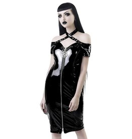 KS Lost Souls PVC Bardot Dress
