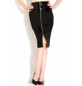 HON Temptress PVC Skirt With Lace Back