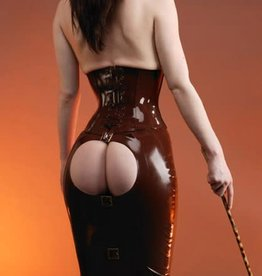 FF Desade Latex Spanking Skirt