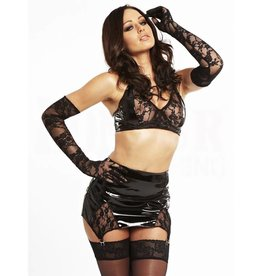 HON Vintage Lace PVC Girdle Skirt