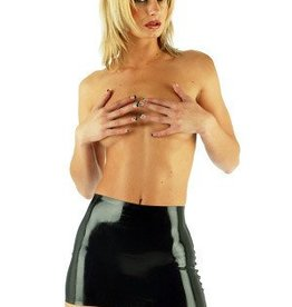 HON Latex Micro Mini Skirt