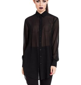 SIL Cult Of Nature Chiffon Boyfriend Shirt