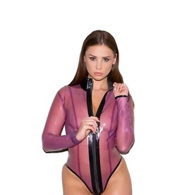 HON Cold Crystal Latex Bodysuit