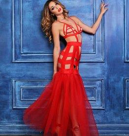 AL Fantasy Dress With Mermaid Tail