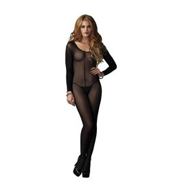 LGA Fine Mesh Bodystocking