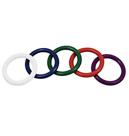 ECN Rainbow Rubber C Ring 5 Pack