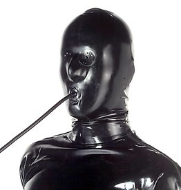 LAT Latex Hood With Tube & Perforated Eyes