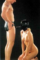 LAT Latex Fellatio Briefs With Attached Hood