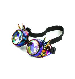 FPL Rainbow Spike Goggles with Kaleidoscope Lens