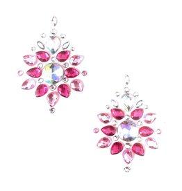 NN Ruby Rose Pink Crystal Nipztix