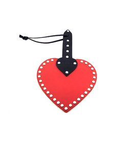 ECN Rouge Heart Leather Paddle
