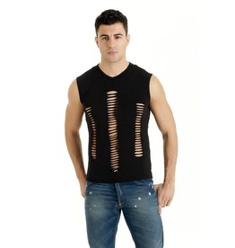 MOD Mens Muscle Shirt with Slashes
