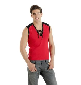 MOD Mens Vest Top with Lace up Front