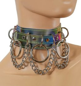 FPL Rainbow Collar with 3 Rings & Chains