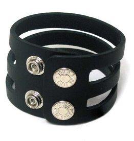 FPL 3 Strap Leather Bracelet