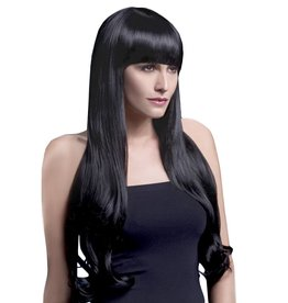 SMF Bella Long Wig  Black