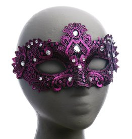 BP Vennia Lace Overlay Eye Mask with Jewels