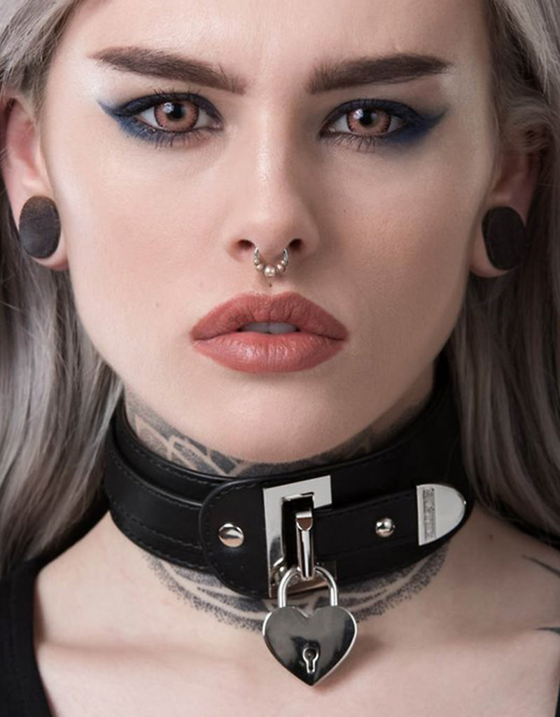 KS Gianna Heart Lock Choker