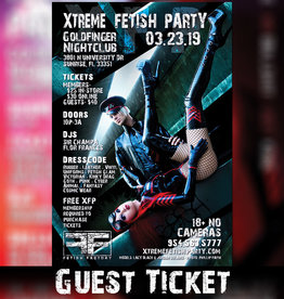 FF Xtreme Fetish Party March 23rd GUEST