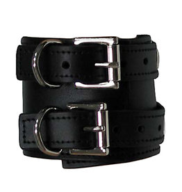 FPL Double Buckle Leather Bracelet